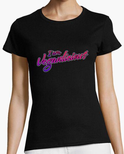 Camiseta Diseño Letras Veganas