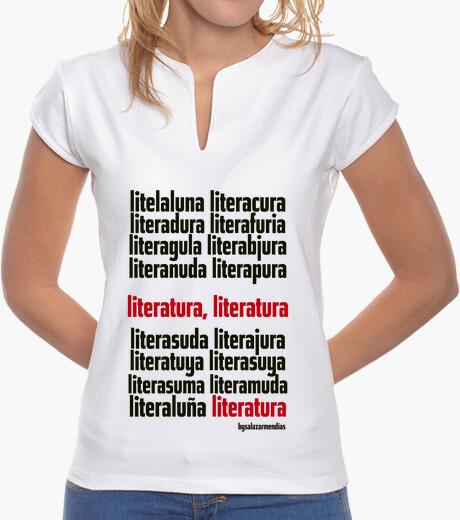 Camiseta Diseño LITERATURA