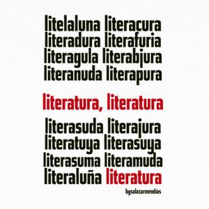 Camisetas Diseño LITERATURA