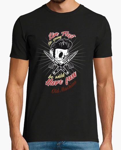 Camiseta Diseño live fast