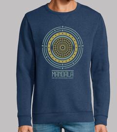 Diseño Mandala Retro Geometrica Regalo