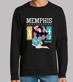 Diseño Memphis Pin Up Girl Rockabilly