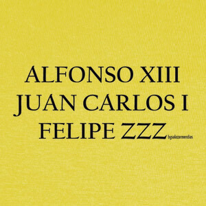 Camisetas Diseño nº FELIPE ZZZ 1