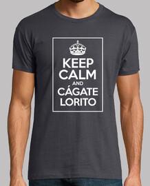 Diseño nº Keep calm and cágate lorito