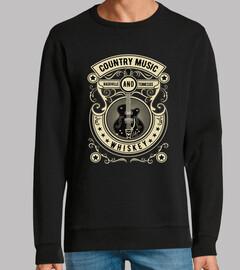 Diseño Nashville Country Music Vintage
