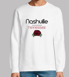 Diseño Nashville Tennessee Rosas Rojas