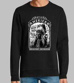 Diseño Native American Indian Vintage
