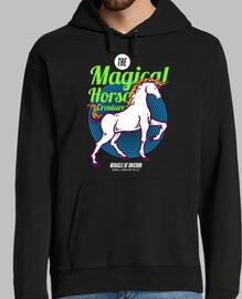 Diseño Retro 80s Unicornios Caballos