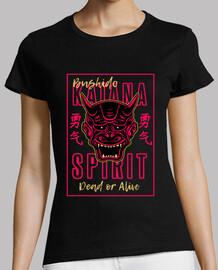 Diseño Retro Bushido Katana Spirit Japó