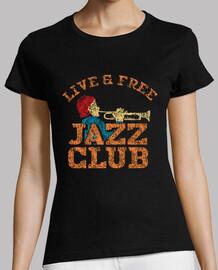 diseño retro club de jazz