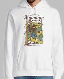 Diseño Retro Montañas Aventuras 80s