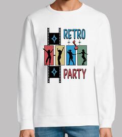 Diseño Retro Party 1950s 60s Rockabilly