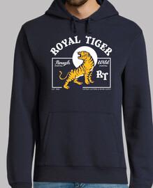 Diseño Retro Tigre Estilo Vintage