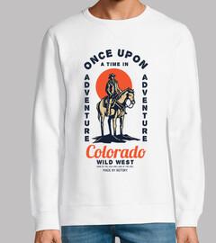 Diseño Retro Wild West Cowboys Vintage