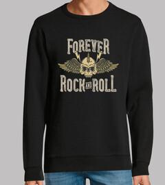 Diseño Rock Music Skull Alas Rockers