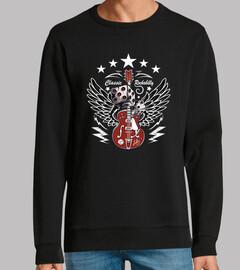 Diseño Rock n Roll Guitarra Rockabilly