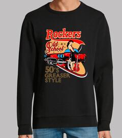 Diseño Rockabilly Pin Up Rockers Retro