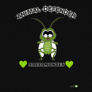 Camisetas Diseño Saltamontes - Animal Defender