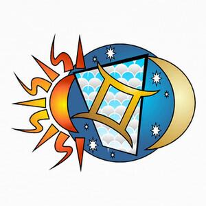 Camisetas Diseño Signo Zodiaco Géminis