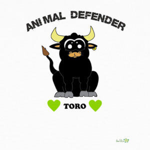 Camisetas Diseño Toro - Animal Defender