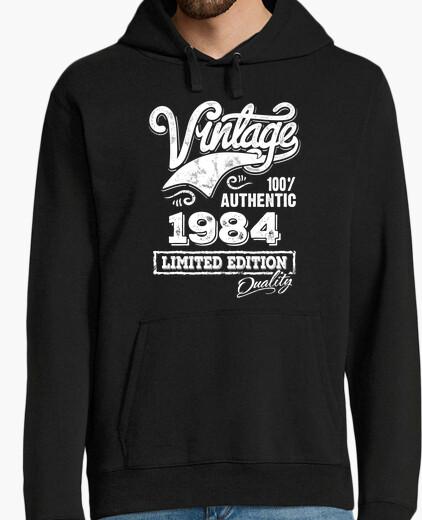 Jersey Diseño Vintage Nacido 1984 Cumpleaños