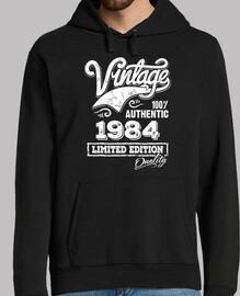 Diseño Vintage Nacido 1984 Cumpleaños