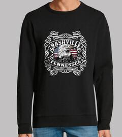Diseño Vintage Nashville Retro Águila
