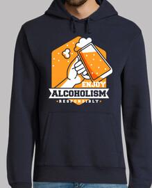 disfruta del alcoholismo responsablemente