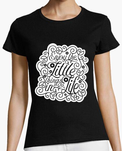 Camiseta disfruta las cosas pequeñas