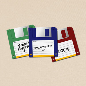 Diskette T-shirts