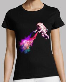 Disparando Estrellas camiseta mujer