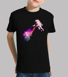 Disparando Estrellas camiseta peques
