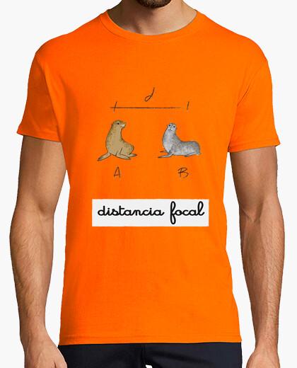 Camiseta distancia focal