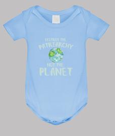 distruggere il patriarcato not il planet