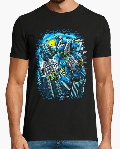 T-shirt distruggi la città