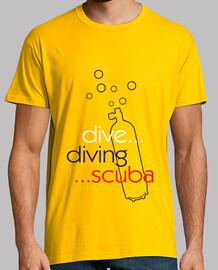 dive diving scuba man