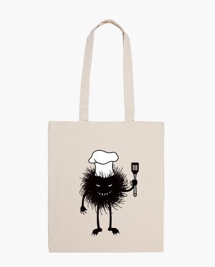 Borsa divertente male bug cuoco ama cucinare