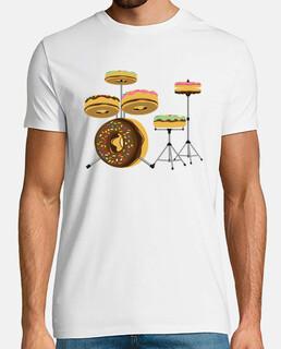 Divertida - Donut - Batería - Humor