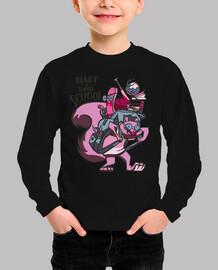 Divertida camiseta de ardilla lista para la escuela