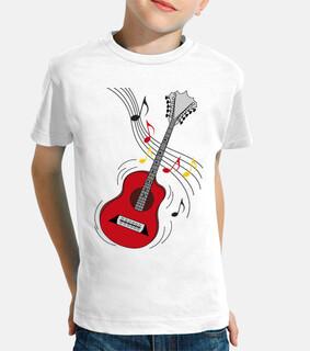 divertida guitarra rock
