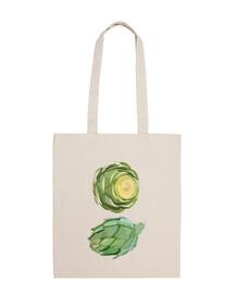 Divertido bolso Dúo de alcachofas