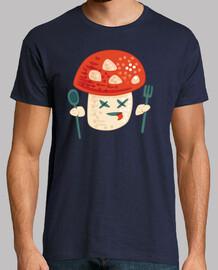 divertido personaje de hongo envenenado