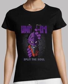 dividere l'anima - t-shirt donna