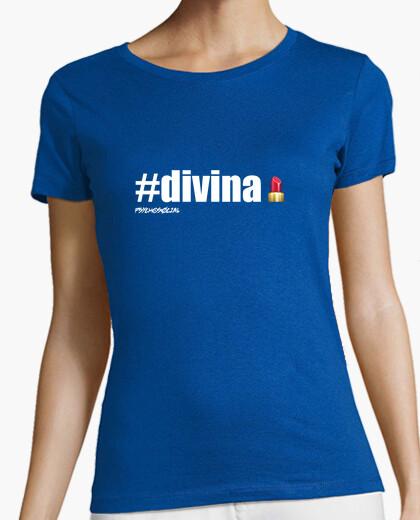 Camiseta #divina [White] - Psychosocial