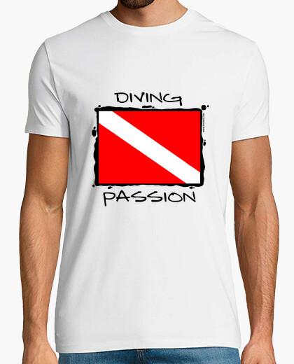 Camiseta Diving Passion Hombre