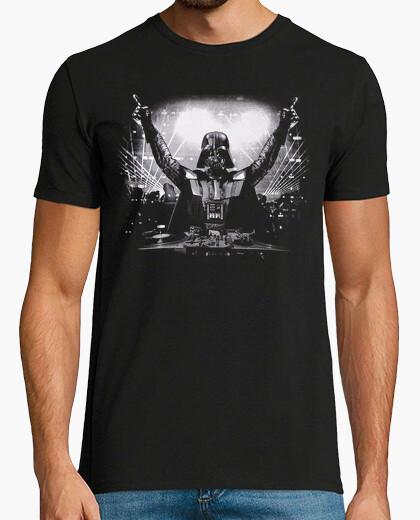 Camiseta DJ Darth Vader (Impresión Delante y Detrás)