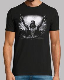DJ Darth Vader (Impresión Delante y Detrás)