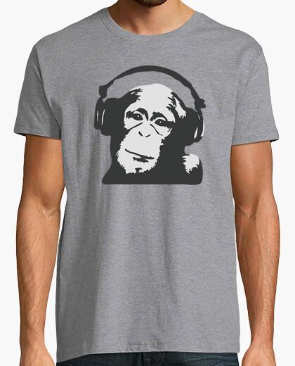 Tee-shirt dj monkey