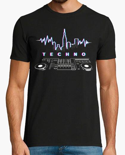 Dj Techno New York Camiseta
