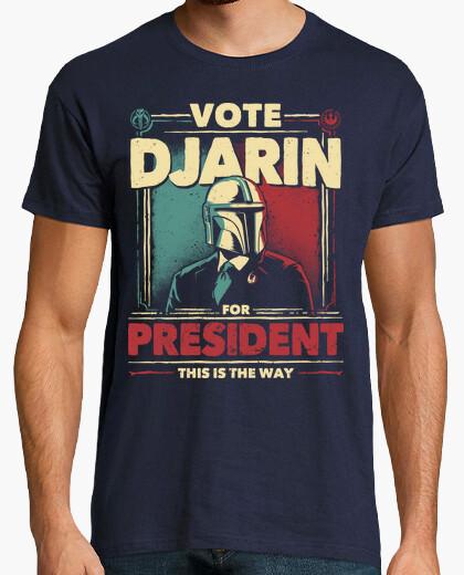 Camiseta Djarin for President